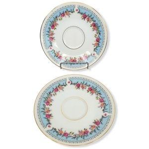 Tatung Vintage Oriental Porcelain Dessert Set
